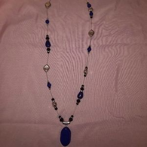 Chico's Elegant Blue Necklace